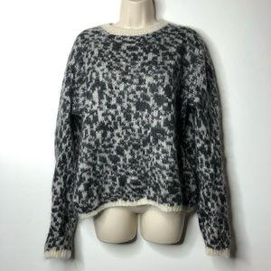 Coach mohair crewneck sweater L B5